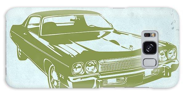 Old Car Galaxy Case - My Favorite Car 5 by Naxart Studio