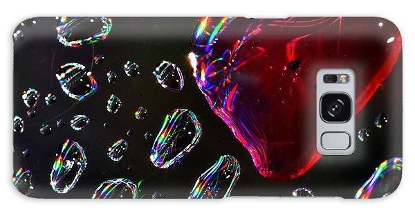 My Heart Galaxy Case by Sylvie Leandre