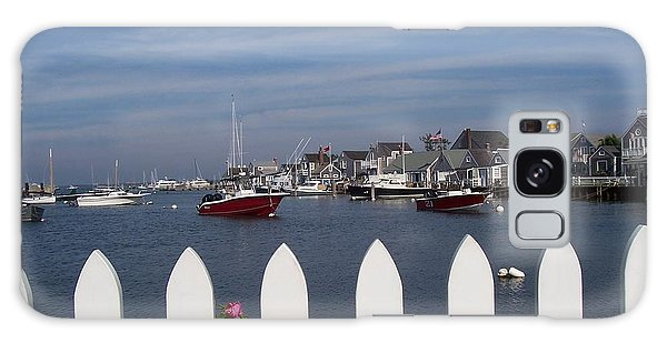 Nantucket Harbor Galaxy Case