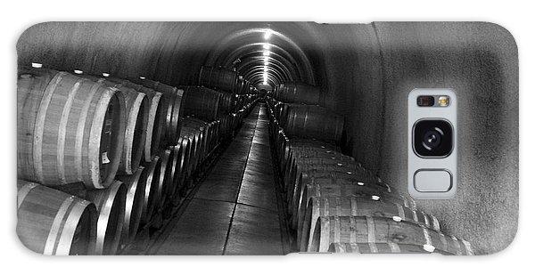 Napa Wine Barrels In Cellar Galaxy Case by Shane Kelly