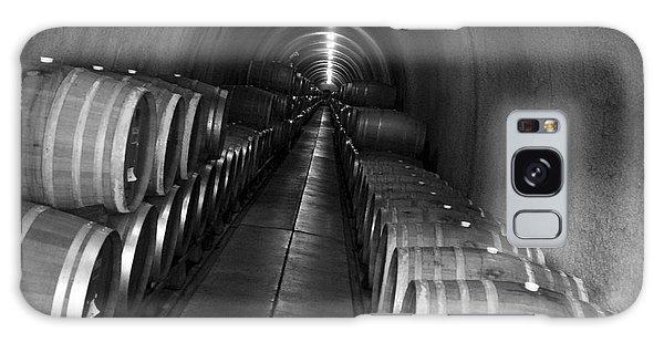 Napa Wine Barrels In Cellar Galaxy Case