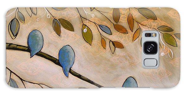 Nature Birds Painting...peaceful Garden Galaxy Case