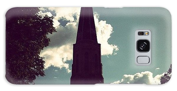 Religious Galaxy Case - #nature #trees #leaves #church #steeple by Jenna Luehrsen