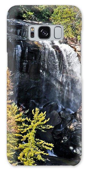 Nc Waterfalls Galaxy Case by Ronald Lutz