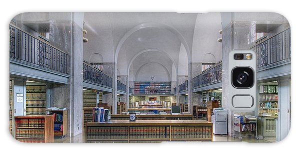 Nebraska State Capitol Library Galaxy Case by Art Whitton