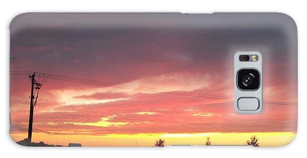 Nebraska Sunset Galaxy Case