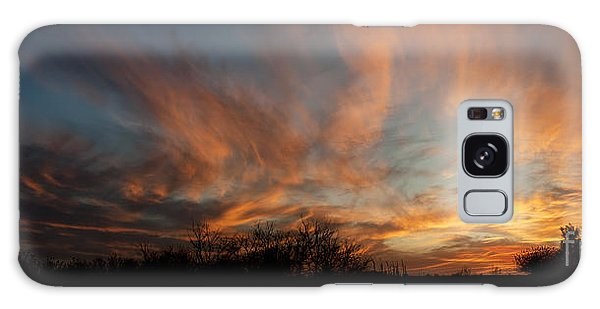 Nebraska Sunset Galaxy Case