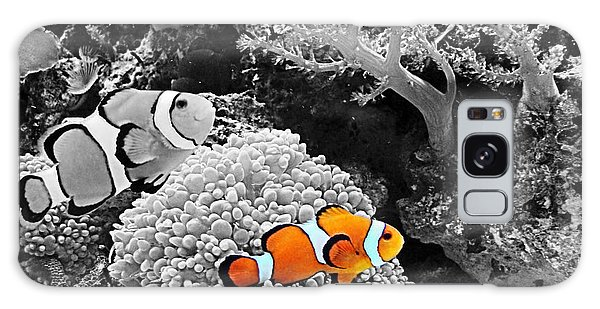 Nemo At Home Galaxy Case by Nick Kloepping