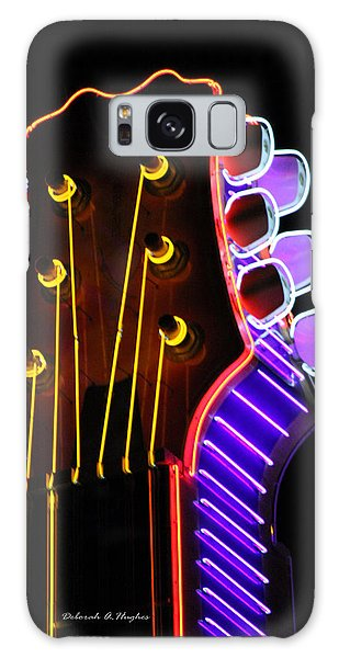 Neon Bridge Galaxy Case by Deborah Hughes