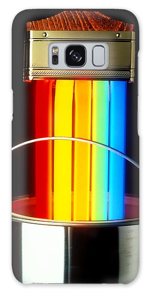 Light Paint Galaxy Case - Neon Paintbrush by Garry Gay