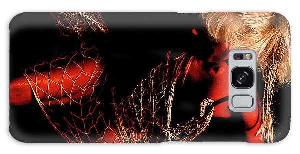 Netted A Red Galaxy Case by Clayton Bruster