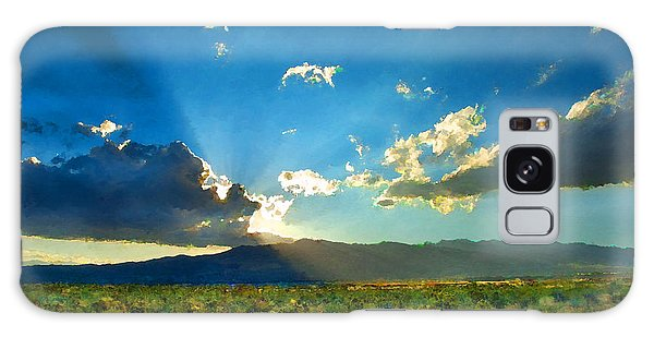 New Mexico Desert Galaxy Case by Betty LaRue