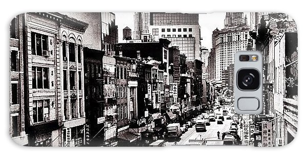 Classic Galaxy Case - New York City - Above Chinatown by Vivienne Gucwa