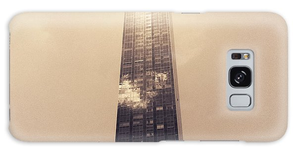 New York City Glimmers And Reflections Galaxy Case