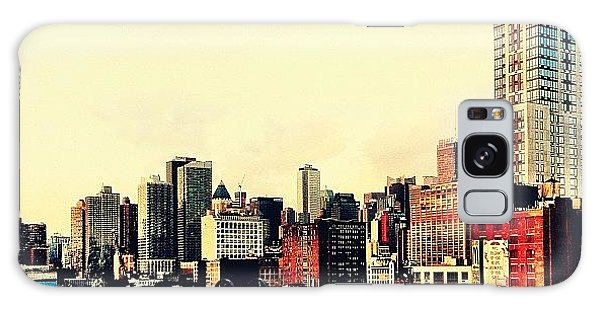 New York City Rooftops Galaxy Case