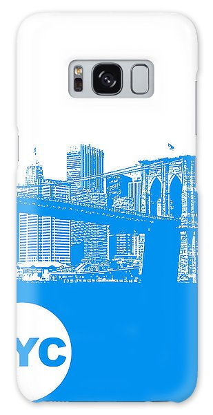 New York Poster Galaxy Case