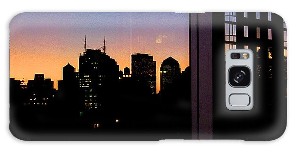 New York Reflections Galaxy Case