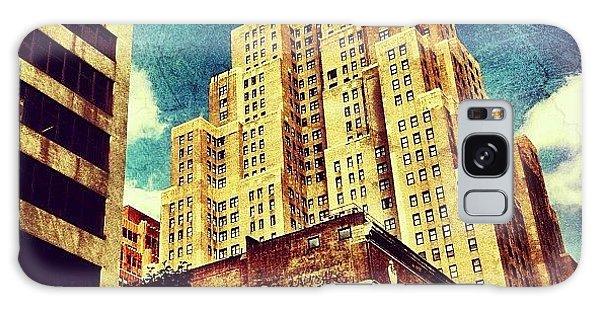 Skylines Galaxy Case - New Yorker Hotel by Luke Kingma