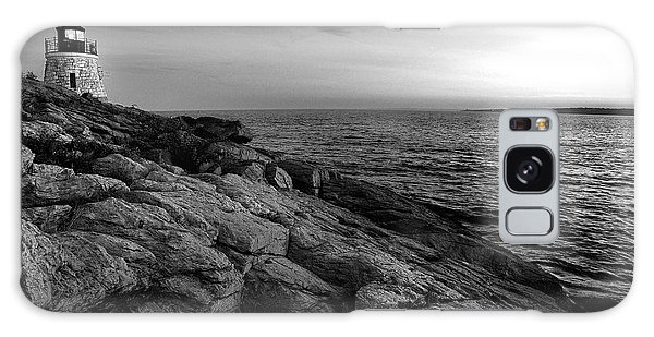 Newport Rhode Island-castle Hill Black And White Galaxy Case