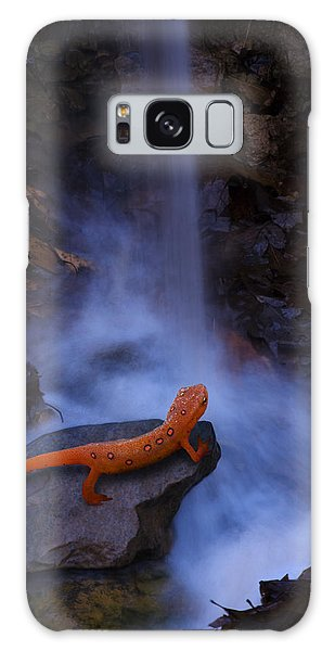 Newts Galaxy Case - Newt Falls by Ron Jones