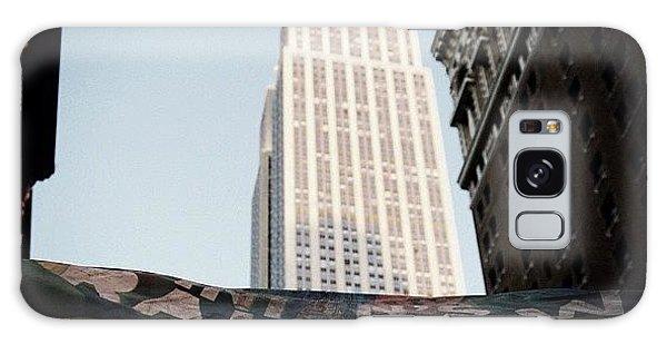 Skylines Galaxy Case - #newyorker #newyork #ny #empirestate by Joel Lopez