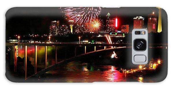Niagara Falls Fireworks Galaxy Case