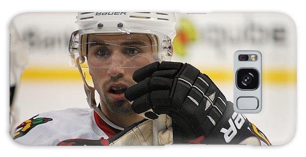 Nick Leddy - Chicago Blackhawks Galaxy Case by Melissa Goodrich