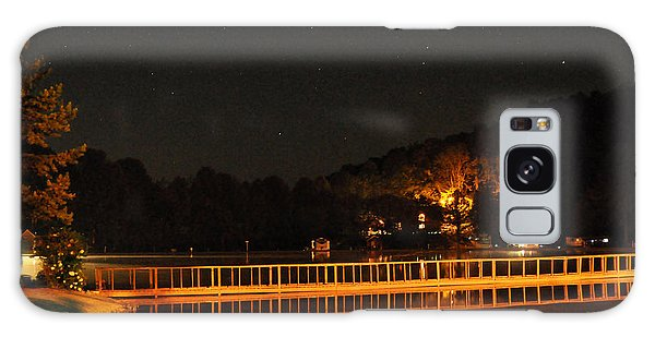Night Bridge Galaxy Case by Kay Lovingood