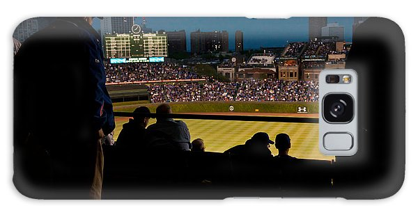 Night Game At Wrigley Field Galaxy Case