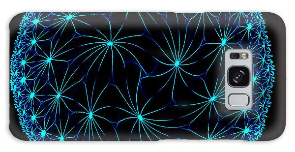 Night Spiders Galaxy Case by Danuta Bennett