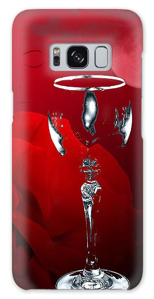 Nights Of Wine And Roses  Galaxy Case by Angel Jesus De la Fuente