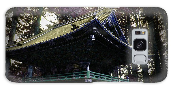 Old Road Galaxy Case - Nikko Architectural Detail by Naxart Studio