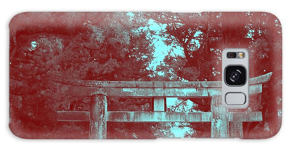 Temple Galaxy Case - Nikko Gate by Naxart Studio