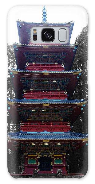 Temple Galaxy Case - Nikko Pagoda by Naxart Studio