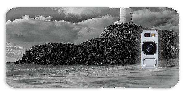 Niwbwrch Lighthouse Galaxy Case