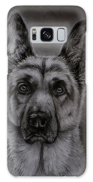 Noble - German Shepherd Dog  Galaxy Case