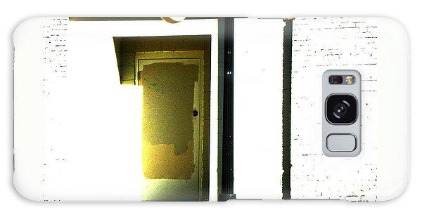 Northern Avenue Street Scene Galaxy Case by Lenore Senior