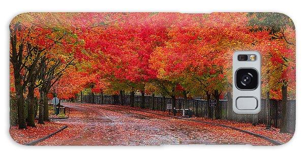 Northwest Autumn Galaxy Case by Ken Stanback