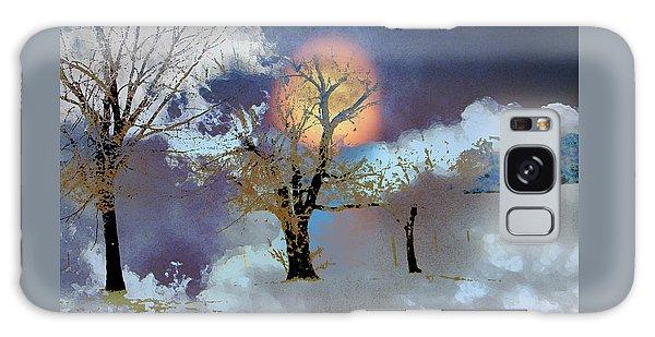 November Moon Galaxy Case by Lenore Senior