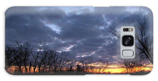 November Sunrise Galaxy Case by Cedric Hampton