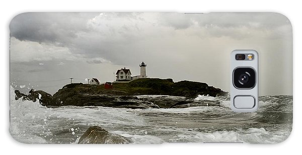 Nubble Lighthouse In The Thick Galaxy Case