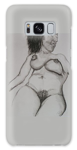 Nude At Rest Galaxy Case by Rand Swift