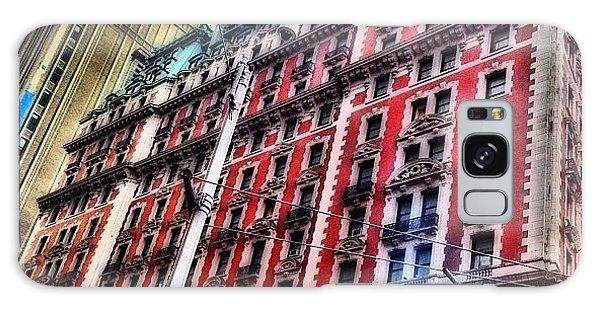 Skylines Galaxy Case - #ny #newyorker #architecture #broadway by Joel Lopez