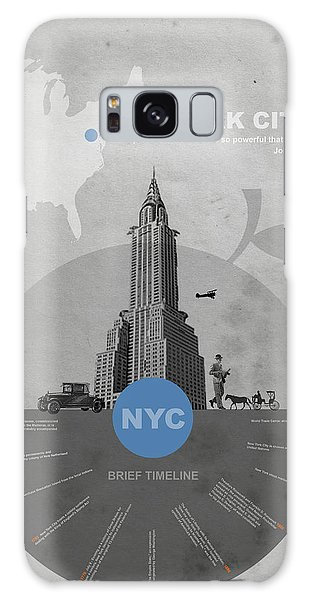 Architecture Galaxy Case - Nyc Poster by Naxart Studio