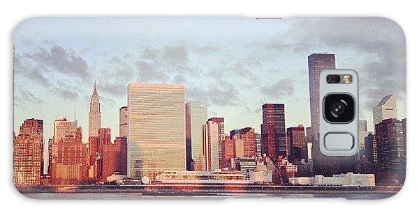 City Galaxy Case - Nyc Sunrise by Randy Lemoine