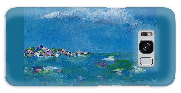 Ocean Delight Galaxy Case by Judith Rhue