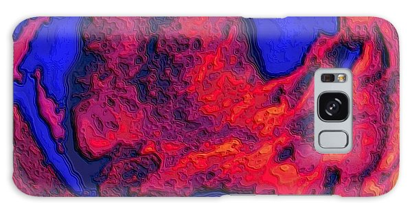Oceans Of Fire Galaxy Case by Alec Drake