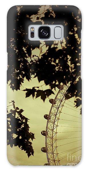 London Eye Galaxy Case - October Mist by Jan Bickerton