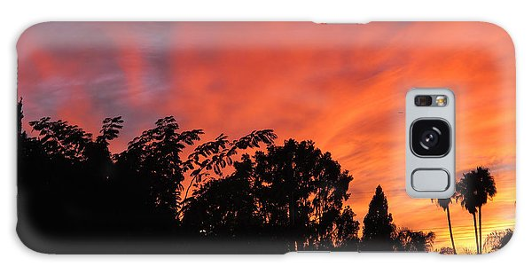 October Sunset 10 Galaxy Case