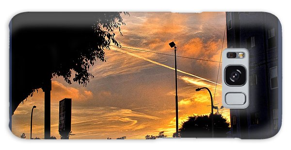 October Sunset 6 Galaxy Case
